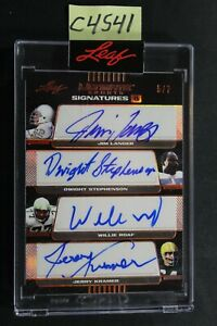 2021 Leaf Ultimate Sports - Offensive Line Legends - Eight Auto Card /7 (C4541