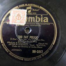 78 Rpm Arthur Godfrey demasiado gordo Polka/Slap er Abajo Nuevo Paw