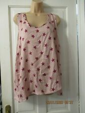 PINK SIZE 22 PJAMAS BY MARKS AND SPENCER