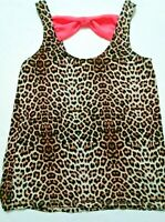 Womens Rue21 Tank Top Size Small Animal Print Loose Fit FREE SHIPPING!!