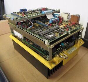FANUC AC SPINDLE SERVO UNIT A06B-6052-H003, W/ BOARD A20B-0008-0030/05D