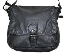 BEAR DESIGN Saddlebag Tasche black schwarz cl32960 Neu Leder gewaschen