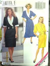 Butterick Dress Pattern 5260 14 16 18 Cheta B New & Uncut