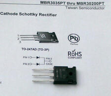 1 Stück MBR30100 Schottky Dioden 30A 100V TSC TO247AD Common Cathode (M1533)