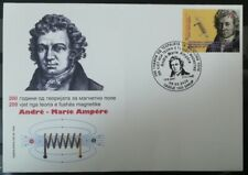 MACEDONIA NORTH 2020-The 200th Ann.of the theory of magnetic field of Ampere FDC