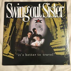 Swing Out Sister It's Better To Travel Vinyl LP 1987 Mercury 832 213-1 Q-1 EX