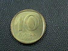 Israël 10 Agorot 1972