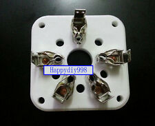 1 PC 5-pin 5pin U5G céramique 4-400 A, 4-125,3-500Z, 4-400, 803 Vacuum Tube Socket