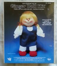 Valiant Crafts Ginger Doll Kit Soft Sculpture Doll Kit New Sealed