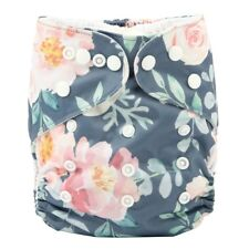 2017 new Baby Pocket Cloth Diaper Nappy Reusable Washable Flower Floral