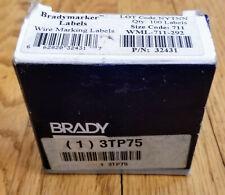 Brady Handimark Y6086 White Vinyl 2in 50ft 42021 Signature Division 6