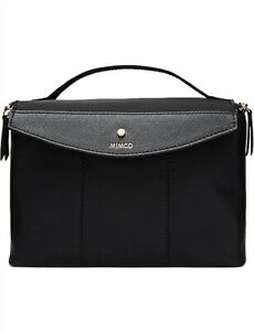 Mimco Black Vista Lunchbox / Bag BNWT RRP$59.95 FREE POST SOLD OUT