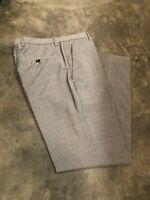 Hugo Boss Mens 'Sharp1' Dress Pants Size 30 Grey Check Pattern