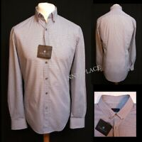 LANVIN Fitted Business Shirt 39-15.5 RRP;£280 *BNWT* Light Blue Pit-Pit 22""