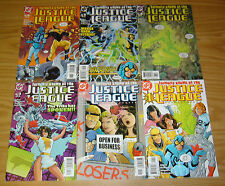 Formerly Known as the Justice League #1-6 VF/NM complete series GIFFEN DEMATTEIS
