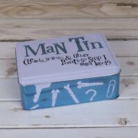 MAN TIN Fathers Birthday Gift Christmas Fathers Day Man Novelty Gift for Him