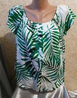 Atmosphere Women's Shirt Blouse Tunic Top 100% Viscose Size 14/42