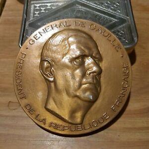 Général De Gaulle, Médaille France croix de Lorraine