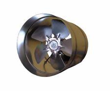 METAL Industrial Inline Estrattore Ventola 210mm flusso d'aria canalizzazione Ventilatore WK200