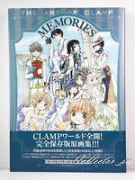3 - 7 Days   The Art of Clamp MEMORIES Art Book from JP