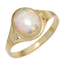 Ringe mit Opal Edelsteinen Synthetisch hergestellte-Sets