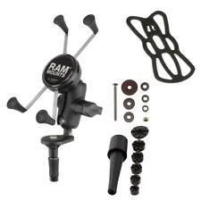 RAM Mount X-Grip Large Phone Cradle Motorcycle Fork Stem Mount RAM-B-176-A-UN10U