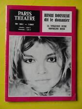 Paris Théâtre n° 241 1967 Douanier Rousseau La Vengeance d'une Orpheline Russe