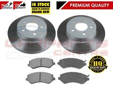 FOR JEEP CHEROKEE KJ 4X4 02-07 FRONT VENTED BRAKE DISC DISCS PAD PADS SET 288mm