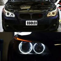 Super White LED Angel Eye Halo Bulb Rings BMW E60 LCI Halogen Low Beam 2008+