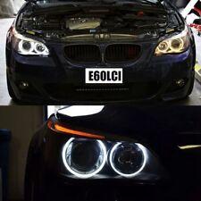 Super White LED Angel Eye Halo Bulb Rings BMW E60 LCI For Halogen Low Beam Model