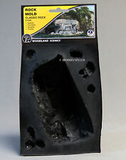 WOODLAND SCENICS ROCK MOLD CLASSIC ROCK O HO N O GAUGE train scene WDS 1236 NEW