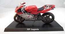 MV Agusta im Maßstab 1:18 Racing Motorrad von Majorette mit Standplatte