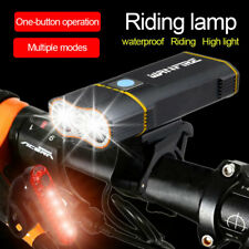 20W 20000LM Mountain Bike T6 LED Front Light Rechargeable Headlight 5led Rear