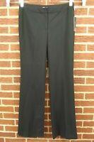 NEW $148 Tahari Womens Hazel Dress Pants Sz 8 Black Slacks Business Suit NWT