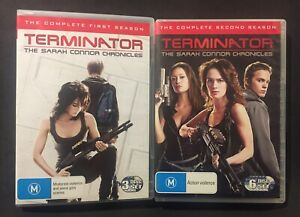 THE SARAH CONNOR CHRONICLES: 1+2 COMPLETE DVD SERIES - TERMINATOR - REGION 4