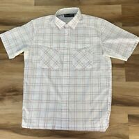 Under Armour Mens Tide Chaser 2.0 UPF 30 Button Down Shirt Short Sleeve Plaid