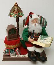 Vintage 1996 Holiday Creations Inc Santa Christmas Decoration Motion & Sound