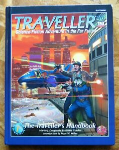 Traveller - Role Playing Game Hardback Hardcover by Quicklink RPG - V.G.C.