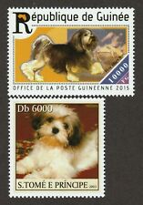 LÖWchen * Int'l Dog Postage Stamp Collection * Great Gift Idea* Lowchen