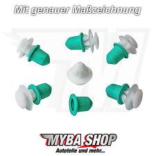 10x soporte clip zierleistenklammer con tules vw golf jetta Passat Ibiza... nuevo