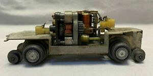 Lionel O Scale #68 Inspection Car CHASSIS & MOTOR ONLY - NO Body - Runs