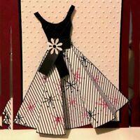 Dress Metal Cutting Dies Stencil Scrapbooking Card Paper Embossing Craft Decor