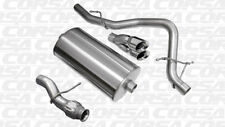 Corsa Cat-Back Exhaust Single Rear Exit Polished for GMC Yukon 5.3L V8