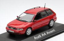 MINICHAMPS AUDI a4 avant-modèle b5 Bj. 1999-2001, M. 1:43, Laserrot, nouveau neuf dans sa boîte