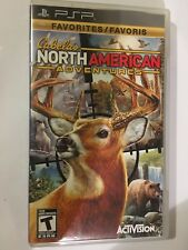 CABELA'S NORTH AMERICAN ADVENTURES - PLAYSTATION PORTABLE PSP - RARE - FREE POST