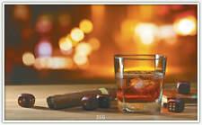 Infrarotheizung 300W (166.Cubes Zigarre Whiskey) Bildheizung - Thermostat