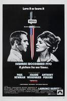 WUSA Paul Newman vintage movie poster print