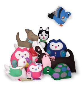Felt Children Craft Kits Many CLARA (Formerly ALI)  Christmas Gifts Easy to Make