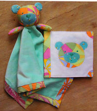PATTERN - Bambino - cute blankee toy & cloth book pattern from Melly and Me