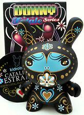 "DUNNY 3"" FATALE SERIES CARMINE ESTRADA BLACK CHASE KIDROBOT 2010 TOY URBAN VINYL"